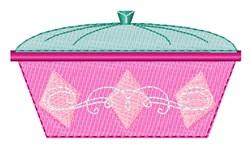 Casserole Dish embroidery design