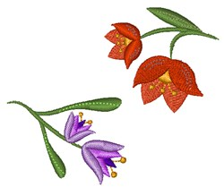 Floral Base embroidery design