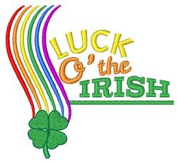 Luck O The Irish embroidery design