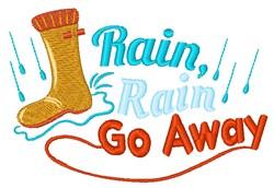 Rain, Rain Go Away embroidery design