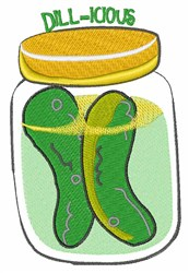 Dill-icious embroidery design