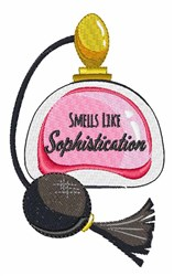 Smells Like Sophistication embroidery design