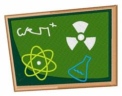Science Board embroidery design