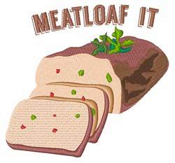 Meatloaf It embroidery design