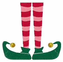 Elf Legs embroidery design