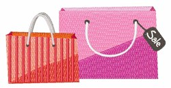 Shop Bags embroidery design