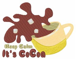 Its Cocoa embroidery design