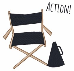 Action! embroidery design
