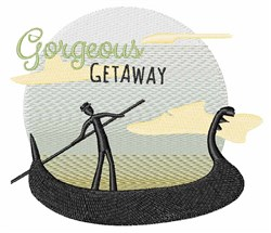 Gorgeous Getaway embroidery design
