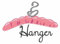 Hanger embroidery design