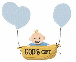 Gods Gift embroidery design