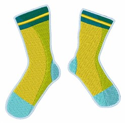 Pair Of Socks embroidery design
