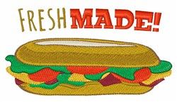 Fresh Made embroidery design