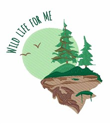 Wild Life for Me embroidery design