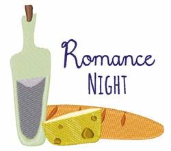 Romance Night embroidery design