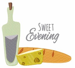 Sweet Evening embroidery design