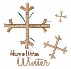 Stick Winter embroidery design