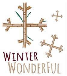 Winter Wonderful embroidery design