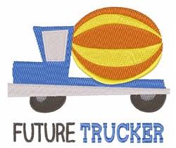 Future Trucker embroidery design