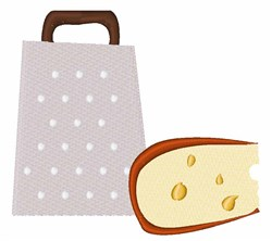 Cheese Grater embroidery design