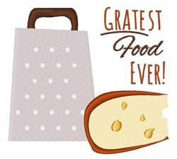 Gratest Food Ever embroidery design