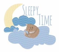Sleepy Time embroidery design