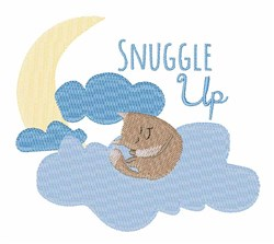 Snuggle Up embroidery design
