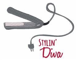 Stylin Diva embroidery design