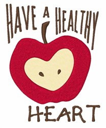 Have Heart embroidery design