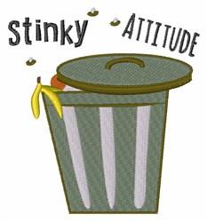 Stinky Attitude embroidery design