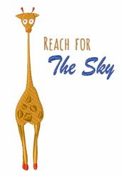 Reach the Sky embroidery design