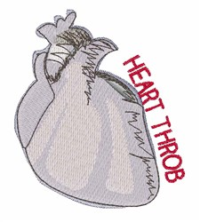 Heart Throb embroidery design