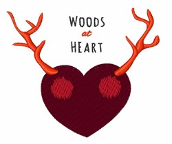 Woods at Heart embroidery design