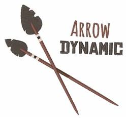 Arrow Dynamic embroidery design
