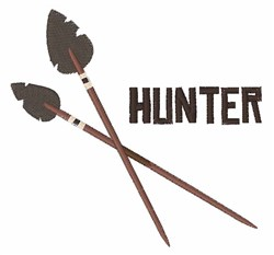Hunter Arrow embroidery design