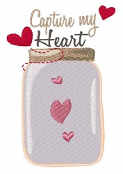 Capture My Heart embroidery design