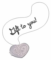 Gift to You embroidery design