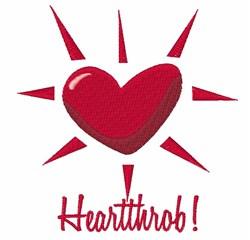 Heartthrob embroidery design