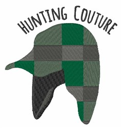 Hunting Couture embroidery design