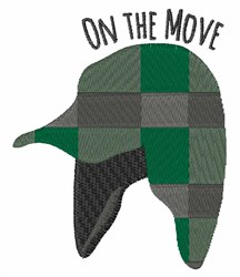 On the Move embroidery design