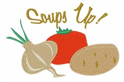 Soups Up! embroidery design