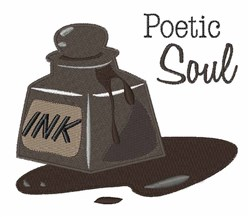 Poetic Soul embroidery design