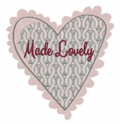Made Lovely embroidery design