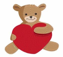 Teddy Love embroidery design