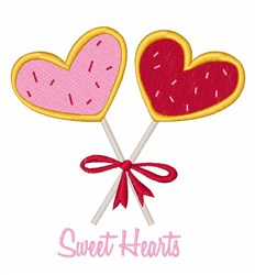 Sweet Hearts embroidery design