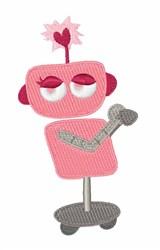 Valentine Robotic embroidery design
