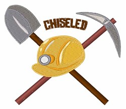 Chiseled Tools embroidery design