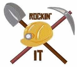 Rockin It embroidery design