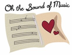 Sound of Music embroidery design