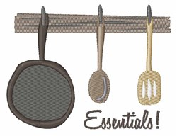 Cooking Essentials embroidery design